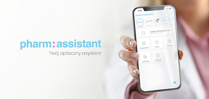 Aplikacja Pharm:assistant - pomoc w codziennej pracy