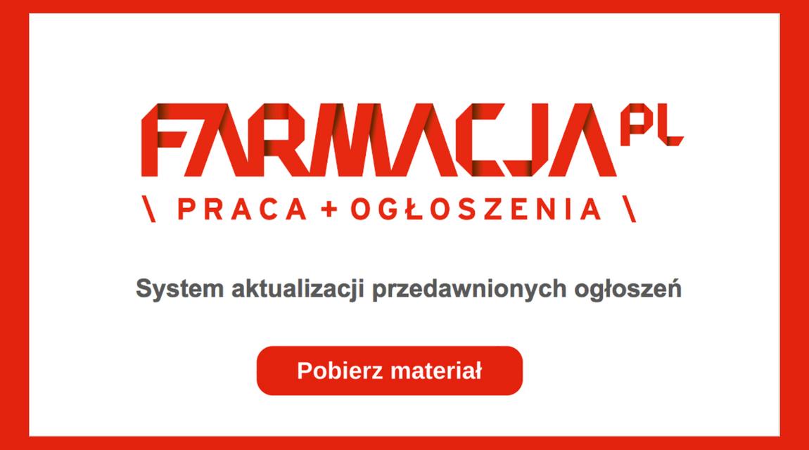 System aktualizacji przedawnionych ogłoszeń portalu Praca.farmacja.pl