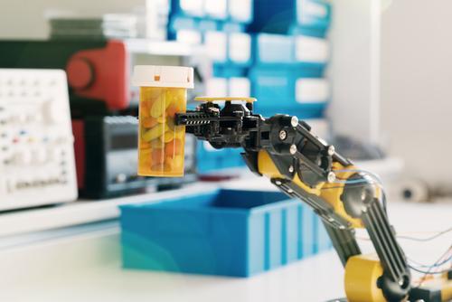 Robot w aptece