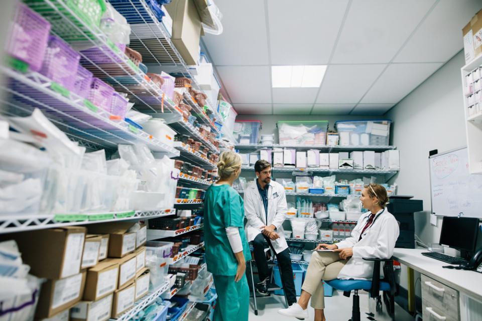 Codzienna praca w aptece szpitalnej