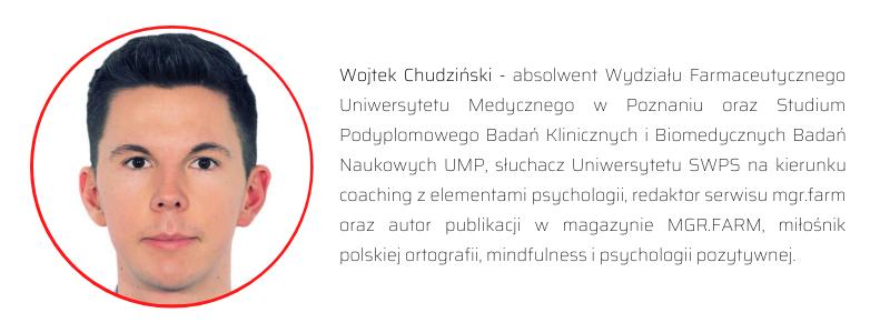 Wojtek Chudziński - autor praca.farmacja.pl